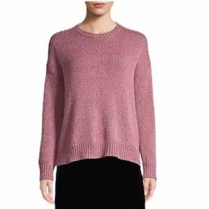 Eileen Fisher Wool Mohair Knit Crewneck Sweater XL